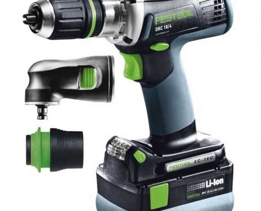 Visseuse Festool DRC 18/4 Li 5.2-Set